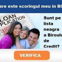 Esti pe lista neagra a Biroului de Credit?