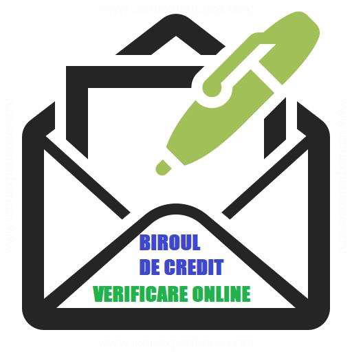 verificare biroul de credit online